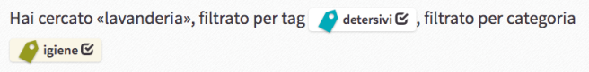 tag categorie